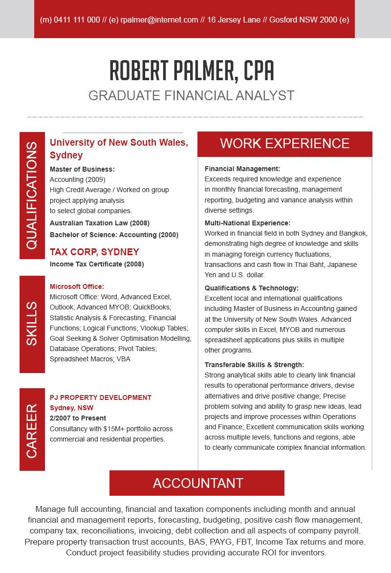 10 best resume writing services for accountants