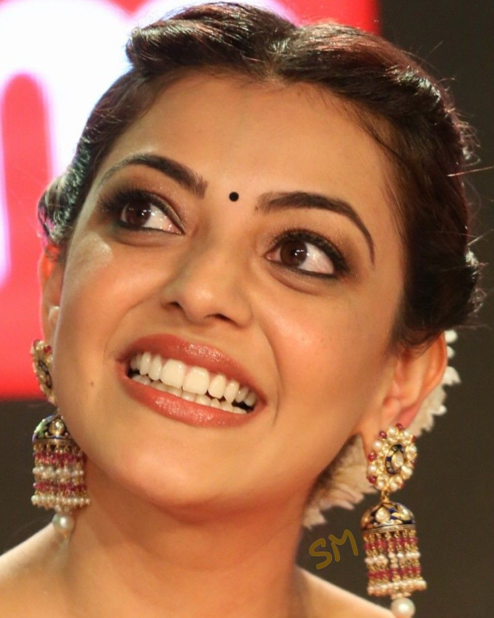 Kajal Aggarwal Beauty Smile India Beauty Beautiful Face