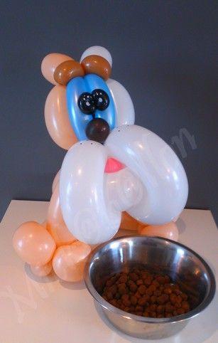 Bulldog By Mickaballon Globoflexia Pinterest Globo, Figuras