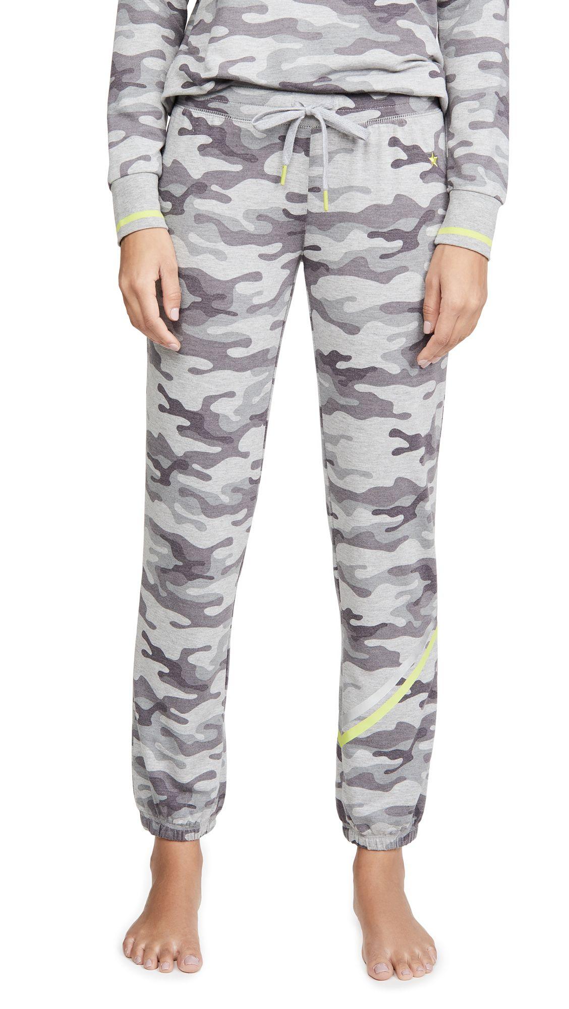 PJ Salvage Womens Neon Pop Short Pajama Bottom