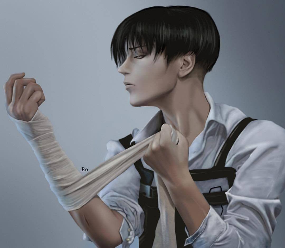 Levi Ackerman  Levi cosplay, Attack on titan anime, Levi haircut