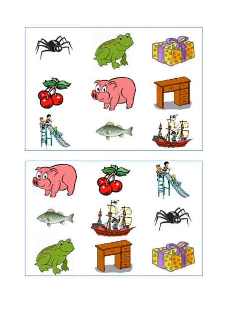 Gruselino Spielplan und Karten [sch] (2) - Artikulation ...