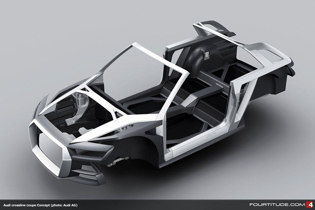 Audi Crosslane Coupe Targa Crossover Concept Chassis
