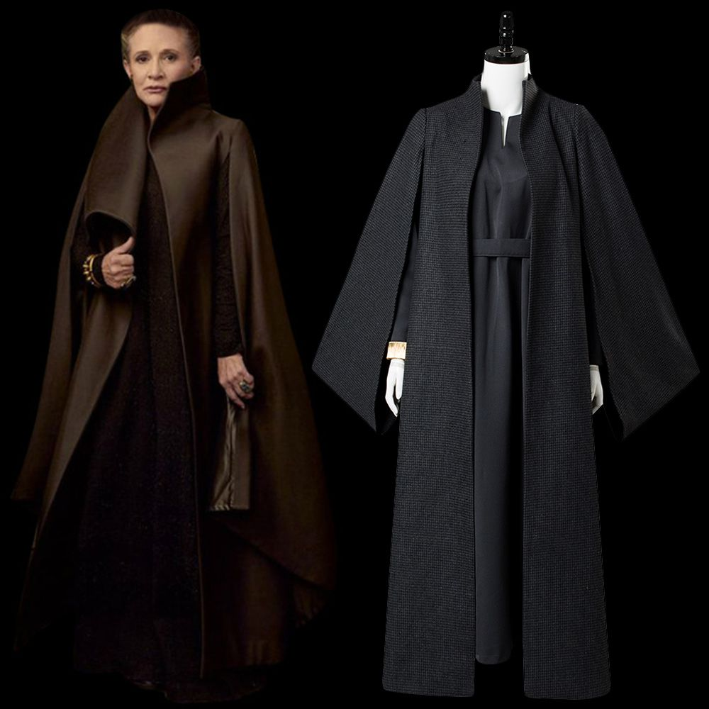 The Last Jedi Leia Organa Solo Cosplay Clothing beautiful !Star Wars Episode 8