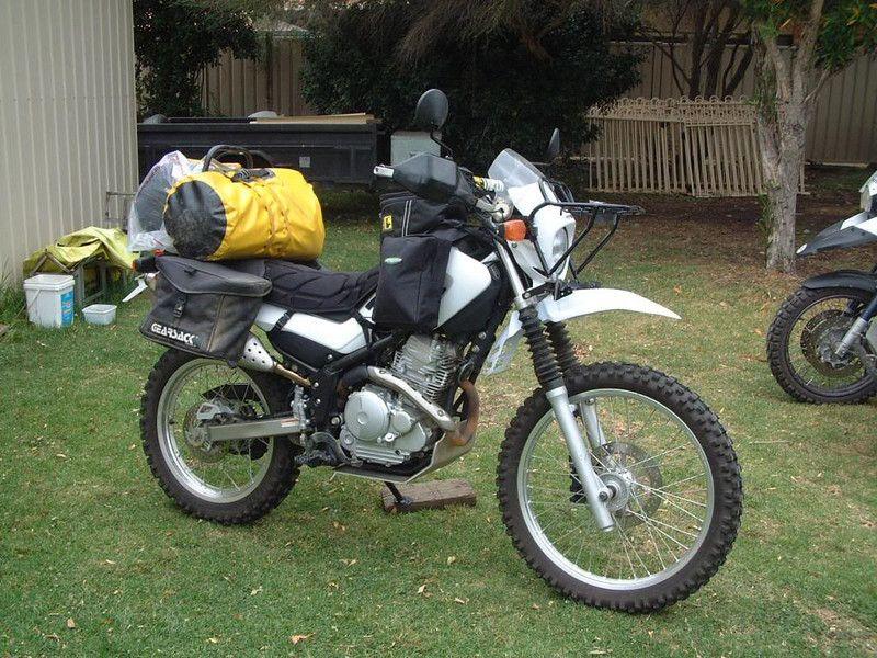 The Australian 250 Touring Thread Dual Sport Motorcycle Dual