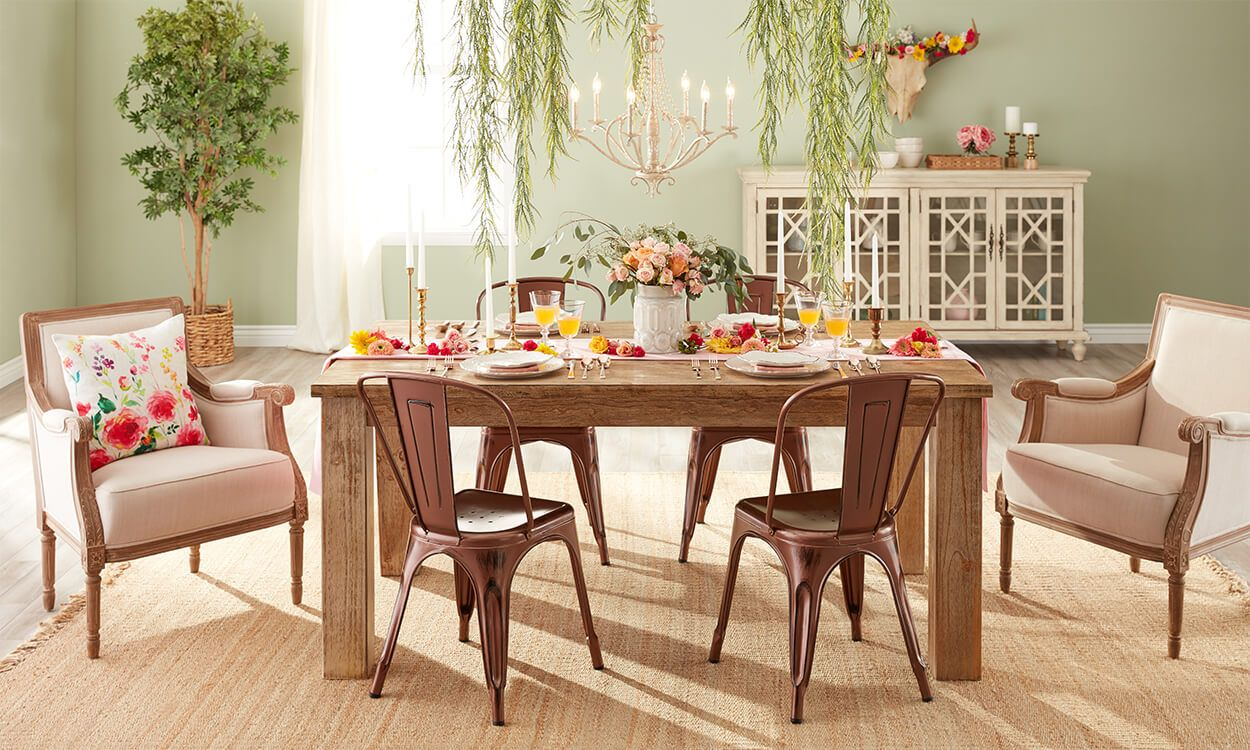 Beautiful Spring Decorating Ideas Easter Table SettingsSpring DecorationsDining Room