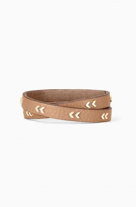 Wrap bracelet arrow