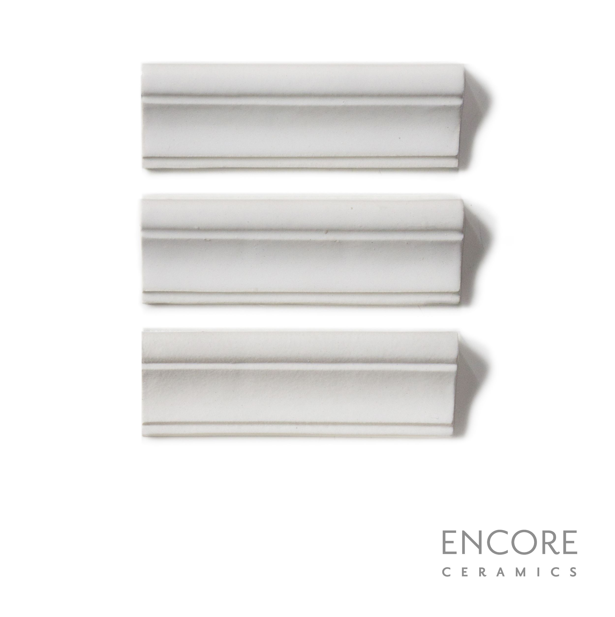 Encore Ceramics | Essence molding hand-glazed in Bianca matte | Sustainably made in Oregon