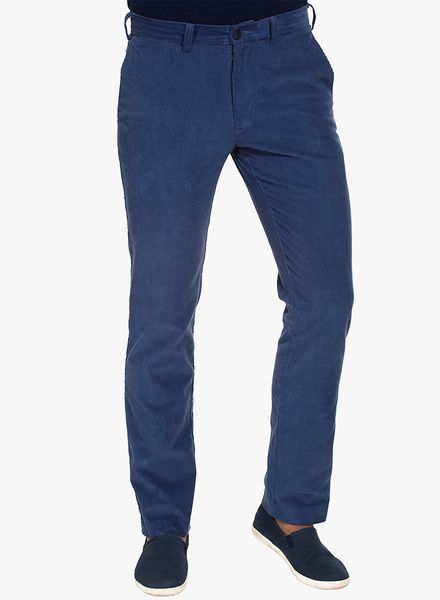 b05dbab1166f Buy Zobello Navy Blue Slim Fit Corduroy Trouser for Men Online India, Best  Prices, Reviews | ZO408MA32TPFINDFAS