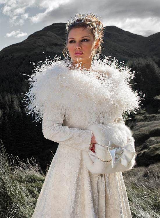Pin by Tia Velazquez on WEDDING GOWNS | Pinterest | Fur coat, Winter ...