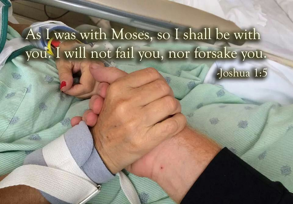 God is with us as caregivers