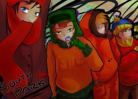 Moar South Park Bois by aaynra