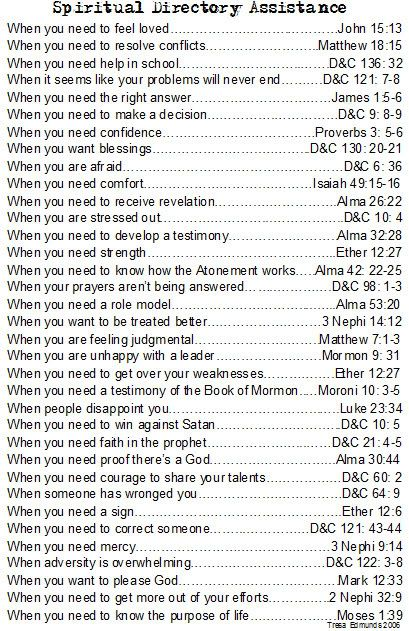 I need to laminate this and put it in my scriptures
