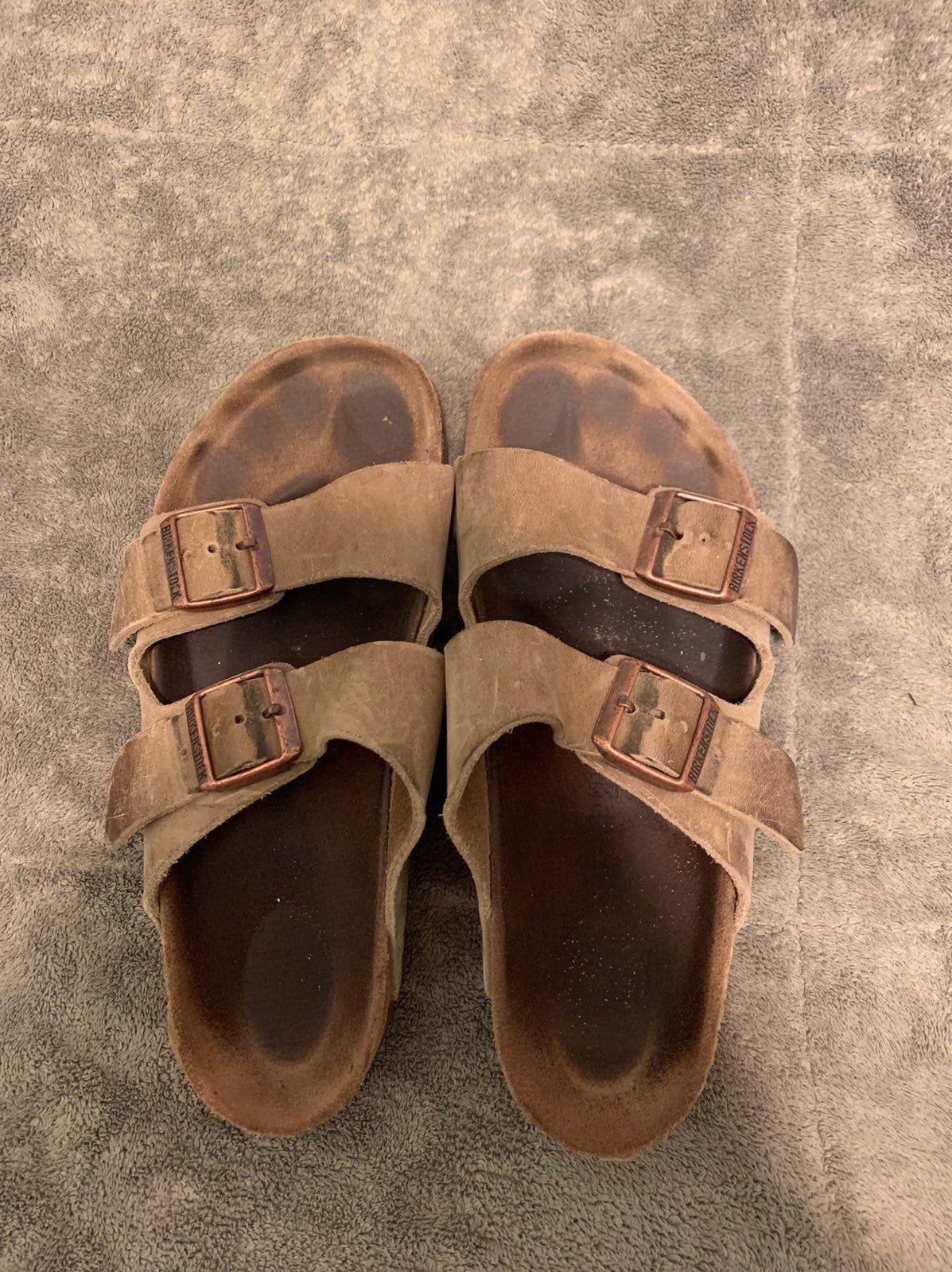 Used Birkenstocks! Picture shows wear