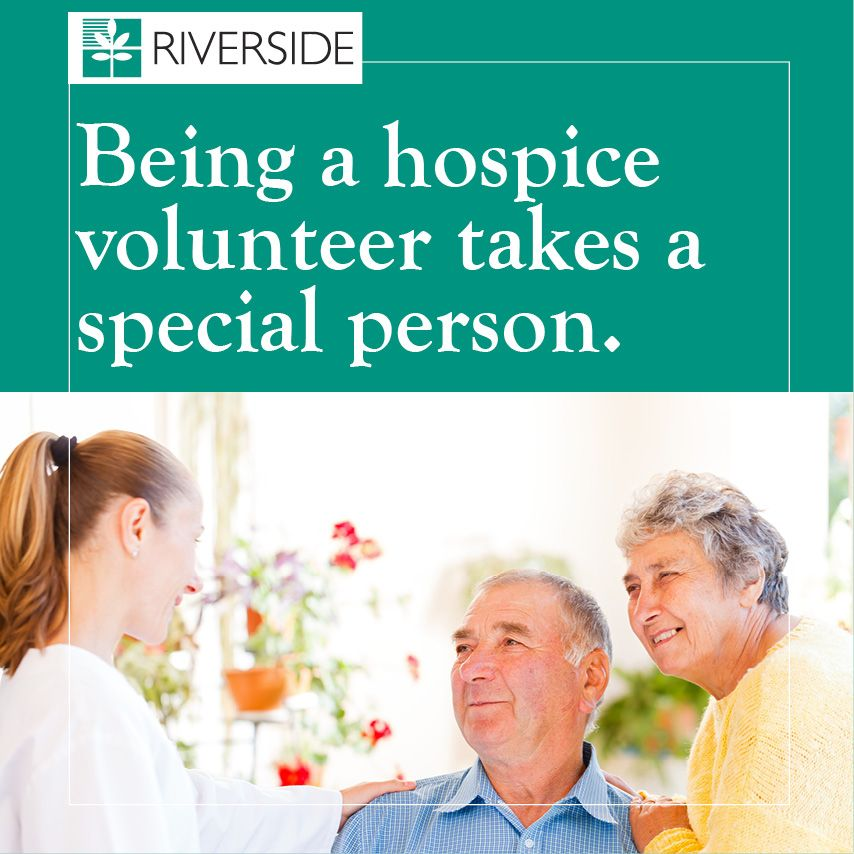 And we\'re looking for special people. Riverside Walter Reed Hospice ...
