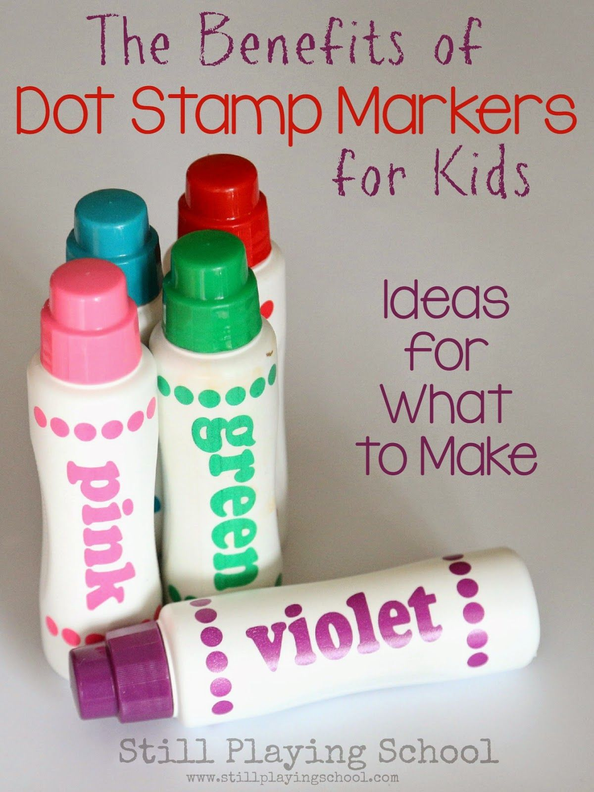 The Benefits Of Dot Stamp Markers For Kids