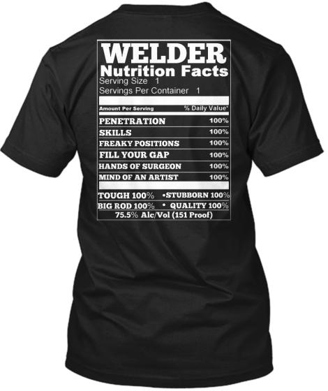 perfect welder christmas shirt