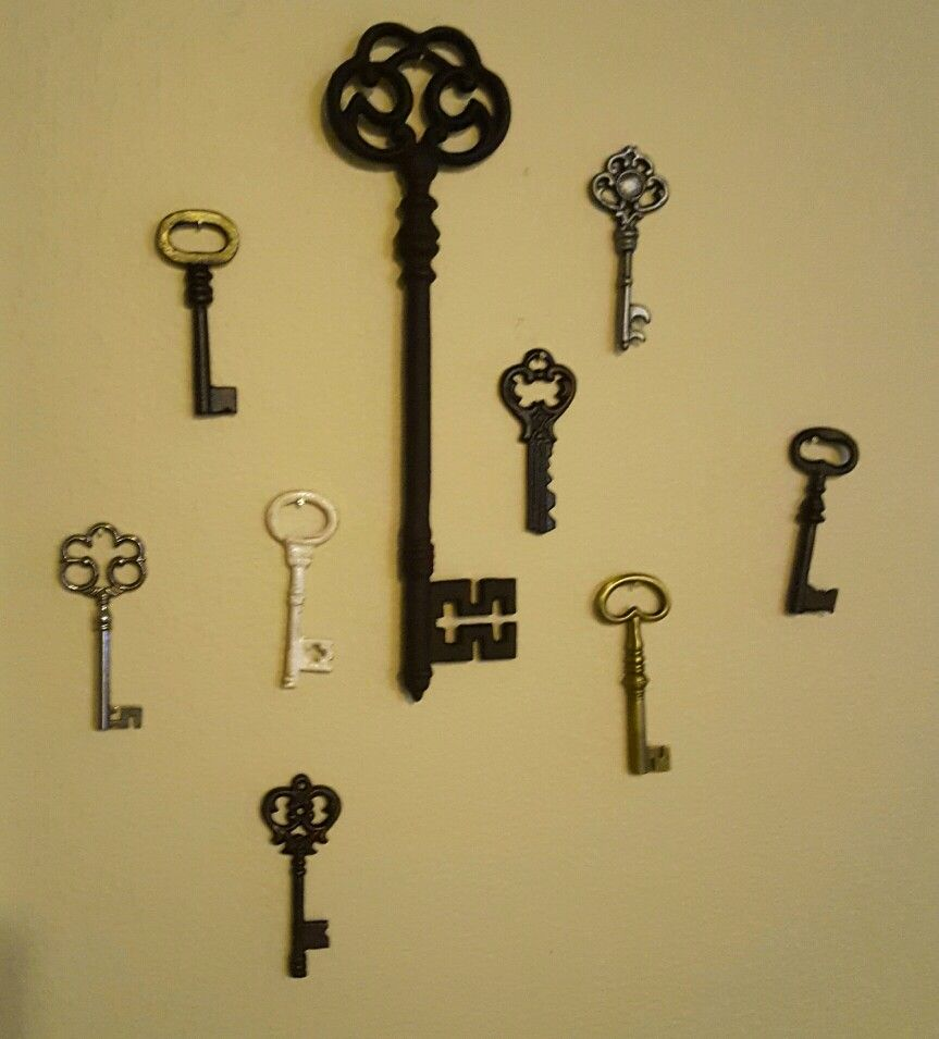 Old Fashioned Wall Decor Keys Images - Art & Wall Decor - hecatalog.info
