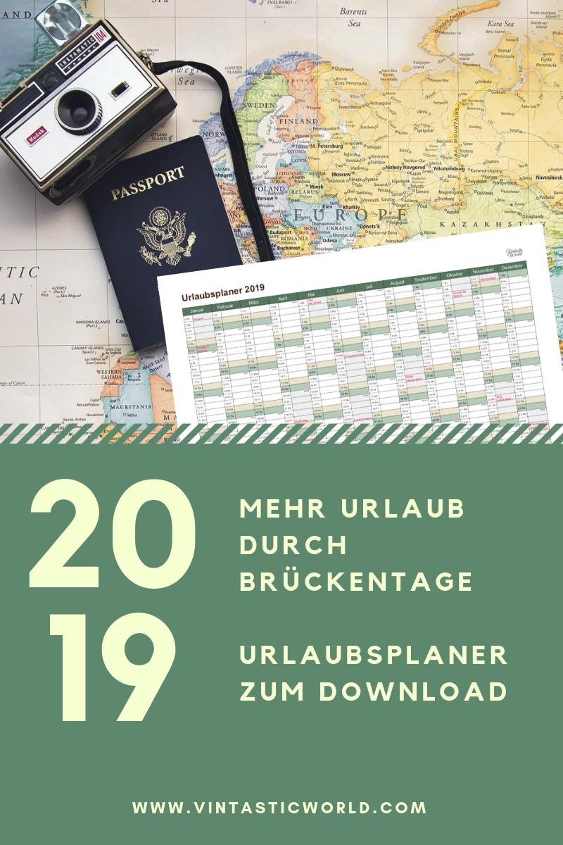 Photo of Urlaubsplanung 2019: Wie Sie durch Überbrückungstage mehr Urlaub bekommen