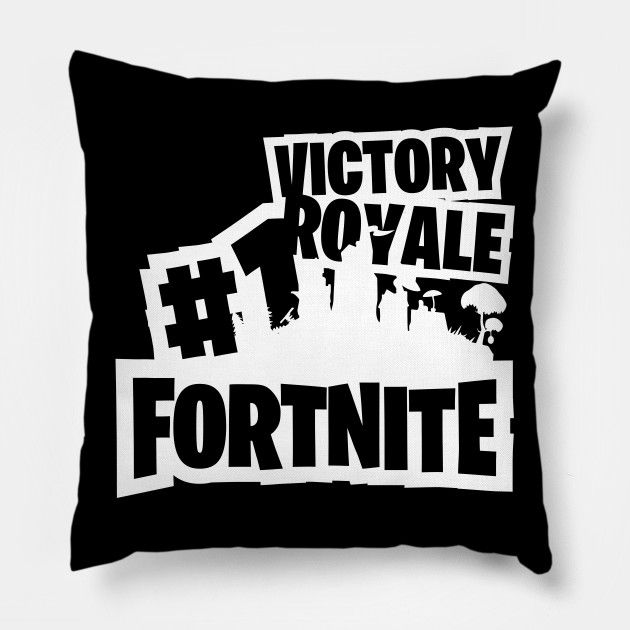 Astonishing Pillow Victory Royale 1 Fortnite Game Gaming Pillow Uwap Interior Chair Design Uwaporg