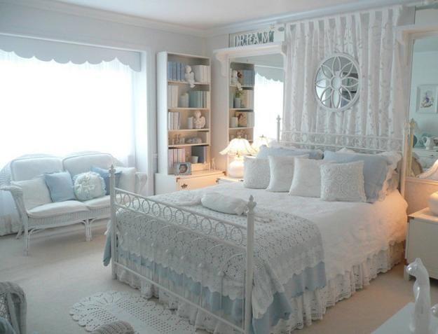 idéias modernas de decoração para casa com tecidos e padrões de renda