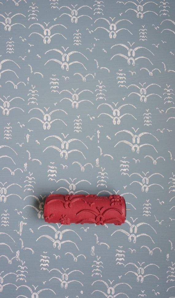 Patterned Paint Roller No.20 from Paint & by patternpaintrollers