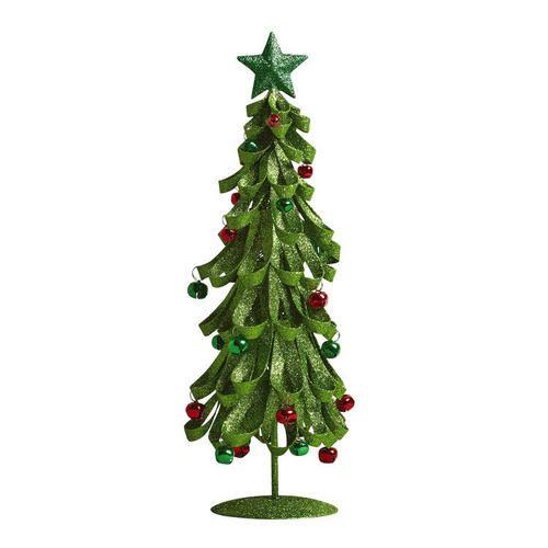 Green Glittered Ribbon Tree Christmas Tree Shops Andthat Christmas Tree Shop Ribbon Tree Christmas Home