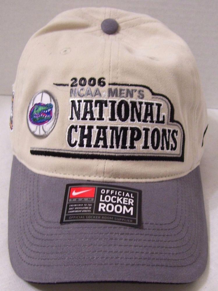 99ae952bab2f7 Florida Gators 2006 NCAA Men s National Champions Nike Hat Cap Final Four  New