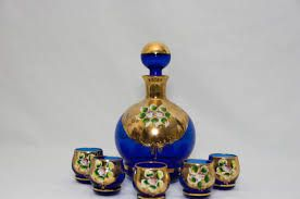 Image result for venetian painted decanter