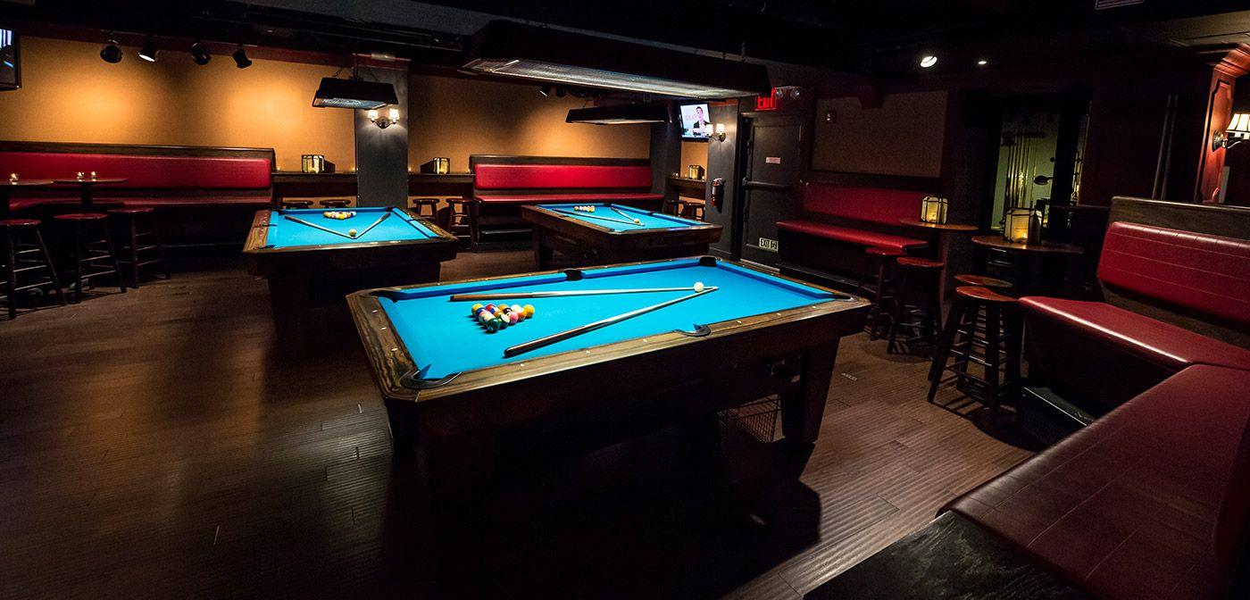 Society Billiard Bar Flatiron Billiards Bar Billiards Pool Bar Design