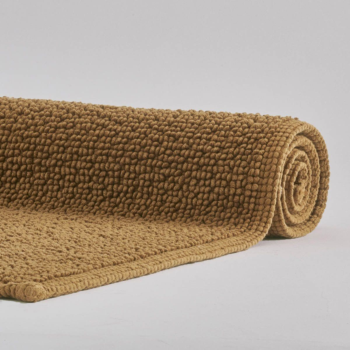 Baumwoll Badteppich In Angesagtem Zimt In 2020 Badezimmerteppich Badteppich Teppich