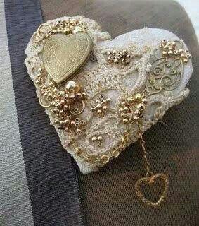 A little heart bling
