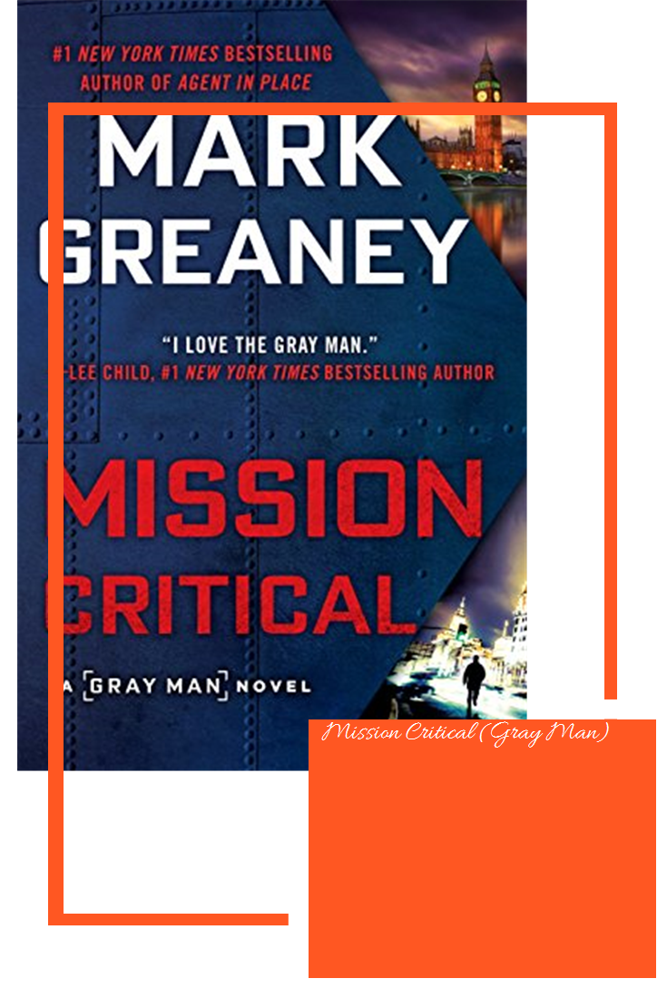 Mission Critical Gray Man Mission Man Grey