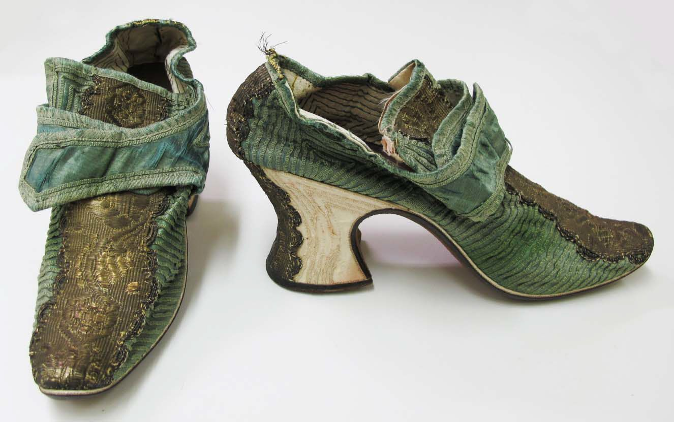 Pin On 18th Century Shoes Buckles Mules Stockings Garters