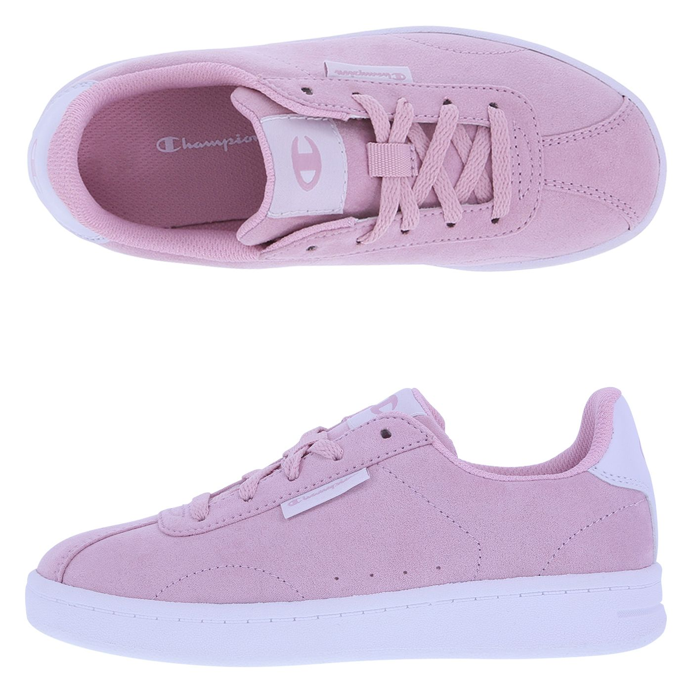 3f7f636097c Old Rose Rally Court Shoes from Champion