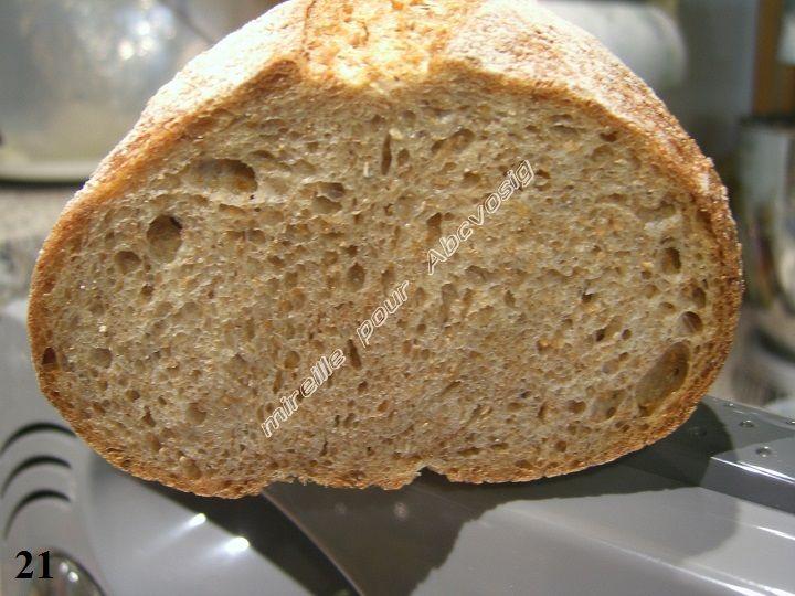 A B C vos IG: *Mon Premier Pain : déroulé en images d'un pain intégral à la T 150, à la levure (IG bas)