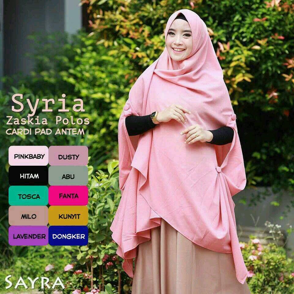 Pin Oleh Maudy Hijab Di Katalog 2018 Pinterest Khimar Maroko Withpet Sj0004 Crepes Produk Catwalks Syria Bubble Polo Catalog