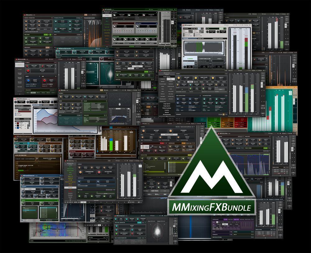 MMixingFXBundle MeldaProduction Professional audio