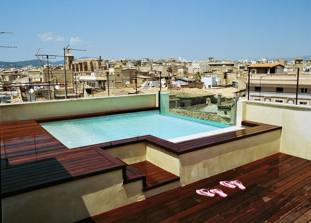 8 Hotels With Rooftop Pools In Palma De Mallorca Rooftop Terrace