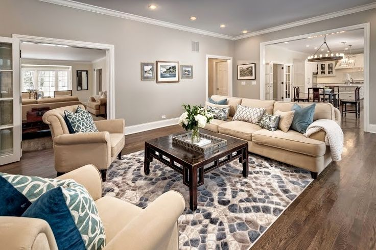 A Little Revere Pewter From Benjamin_Moore Updated This Great Gorgeous Light Colored Living Rooms Design Decoration