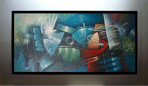 Cuadros Decorativos Abstractos Oleos Alto Relieve Modernos - Cuadros-en-relieve-modernos