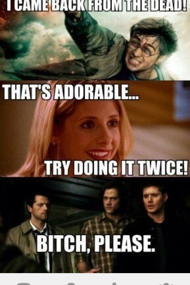 Supernatural Vs Twilight Memes Google Search Harry Potter
