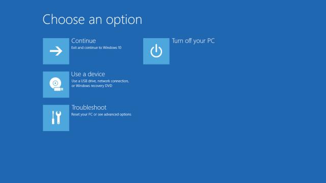 Windows Recovery Usb Windows 10