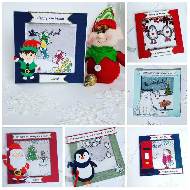 Diy Christmas Card Making Kit Do It Yourself Craft Make Your Etsy In 2020 Christmas Card Making Kits Diy Christmas Cards Christmas Card Packs