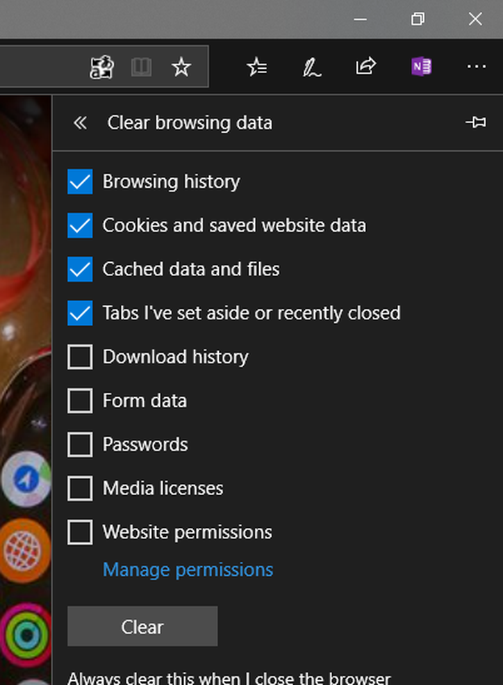 How to clean out junk files in Windows 10 Clear browsing