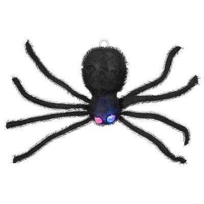 Holiday Living LED Lighted Dropping Doorway Spider *Lowe\u0027s Canada - spiders for halloween decorations