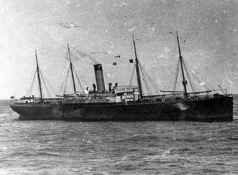 Less than 10 miles away from Titanic when she struck an iceberg,The Californian failed