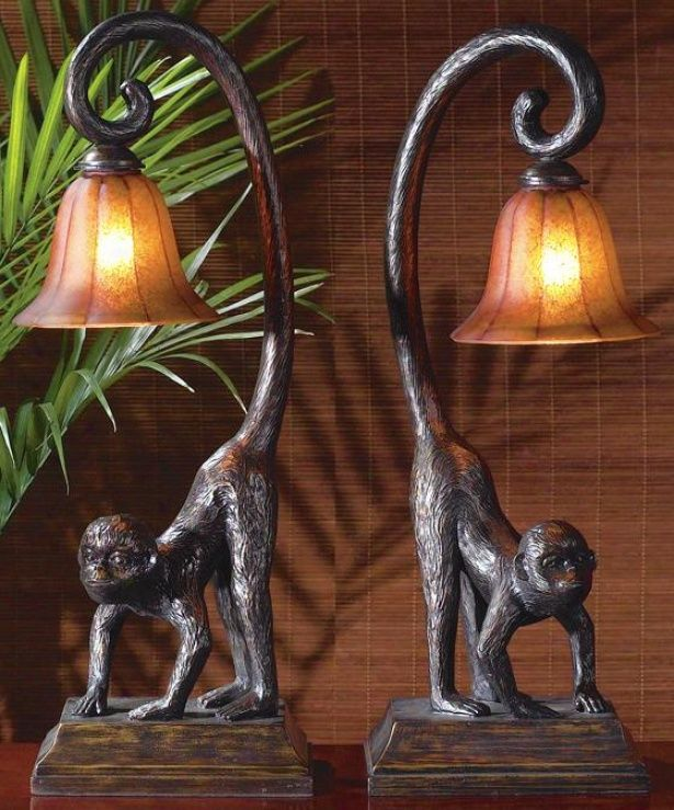 These Monkey Lamps Are So Neat Would Look Amazing