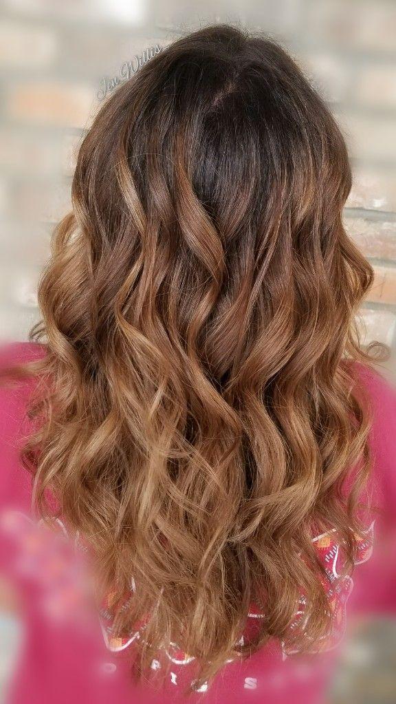Fall Hair Balayage Shadow Root Salon Platinum Conway Arkansas Hair