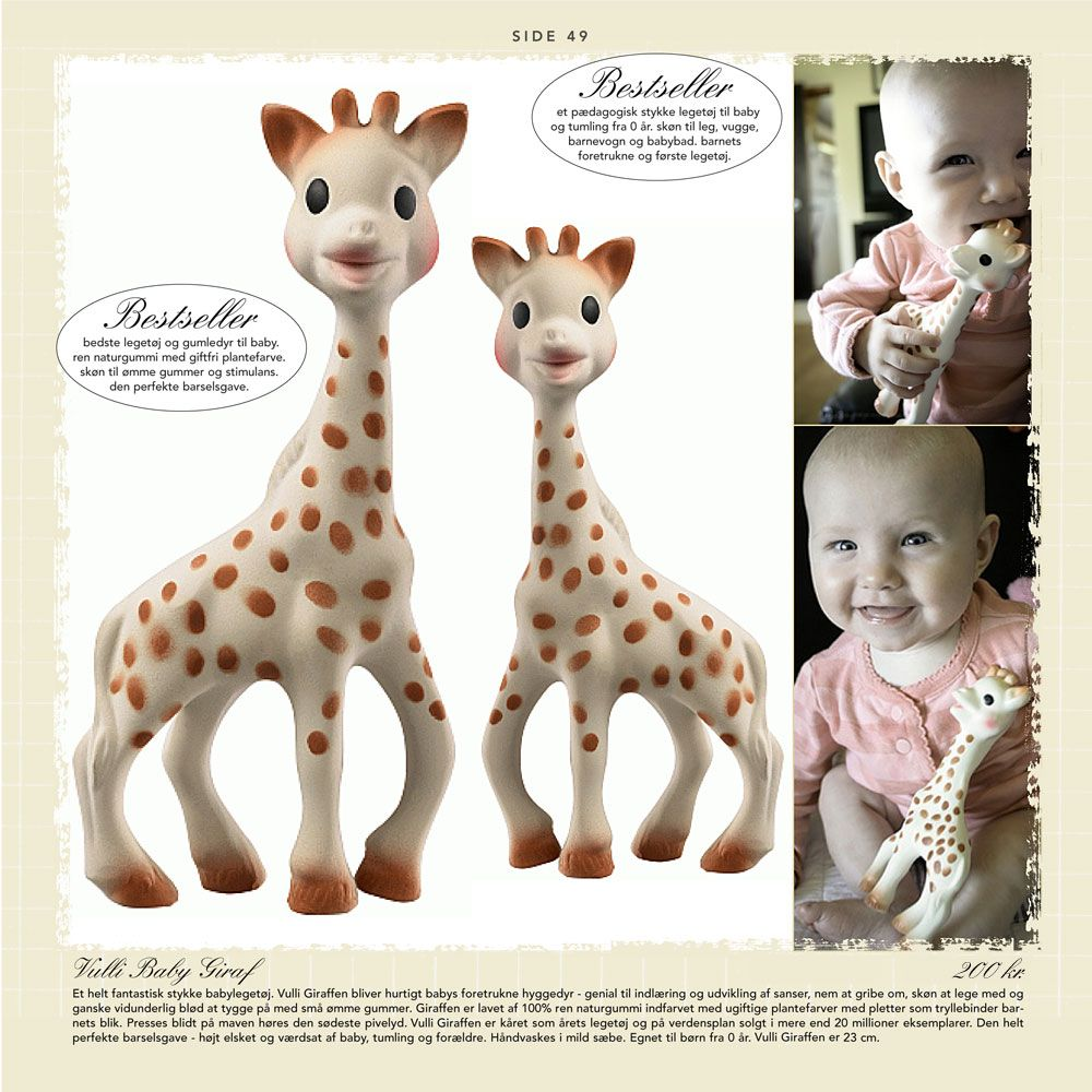 vulli sophie giraf